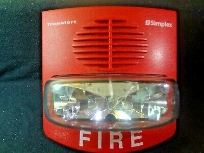Simplex 4903-9425 Horn Strobe Av 15 Cd Standard Non-addressable Free Shipping