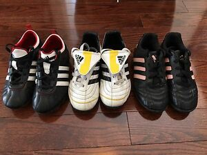 Assorted Adidas Soccer Cleats
