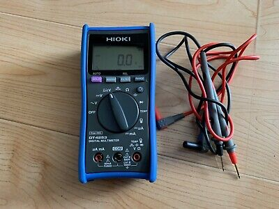 Hioki Dt4253 Digital Multimeter 6000 Count Display Made In Japan