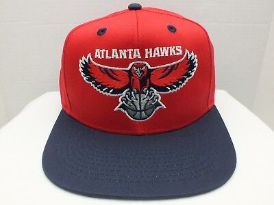 official photos 4e6ee 3a3ad Atlanta Hawks NBA Retro Vintage Snapback Cap Hat New By Adidas