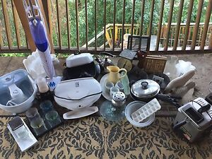 Moving must downsize. Small appliances and more.