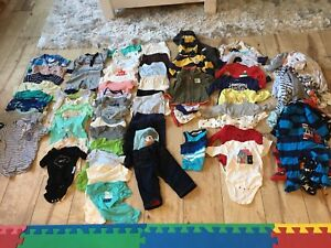 Lot of baby boy clothes - size 0-3 months