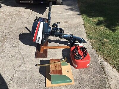 Yamaha 6hp 2-stroke Outboard Engine and Avon 8ft Inflatable Dinghy