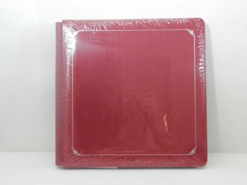 Creative Memories 12 x 12  Red Scrapbook Album old style NIP