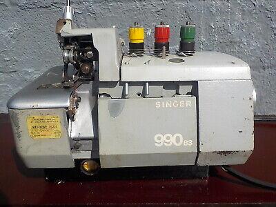 Industrial Sewing Machine Singer 990 -sergeroverlock