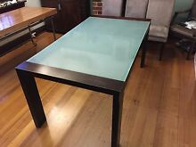Glass Top Dining Table Glen Iris Boroondara Area Preview