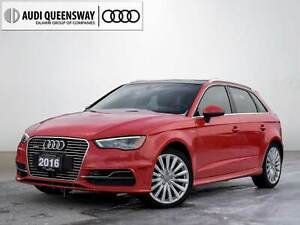 2016 Audi A3 Sportback 1.4T Technik, No Accidents Audi Certified