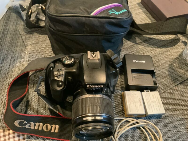Canon EOS Rebel XS  with 18-55mm Lens