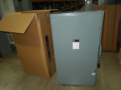 Square D Hu365 Heavy Duty Safety Switch Non-fused 400a 3w 600v Nema 1 Surplus