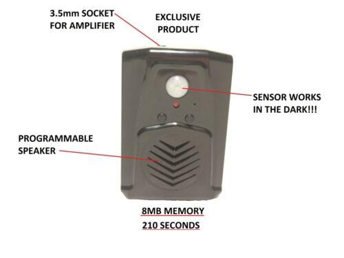 Scream Box SENSOR Work in the Dark Programmable Speaker animated sensor scary
