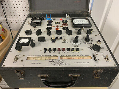 Hickok 539a Tube Tester - Working But Needs Maintenance - For Parts Not Working