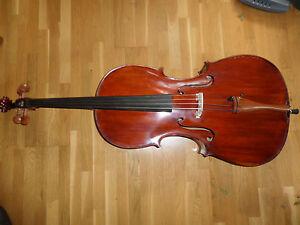 Cello mit der Innenzettel: 900 Gabriel HOUFFLACK Expert-Luthier - Strasshof an der Nordbahn, Österreich - Cello mit der Innenzettel: 900 Gabriel HOUFFLACK Expert-Luthier - Strasshof an der Nordbahn, Österreich
