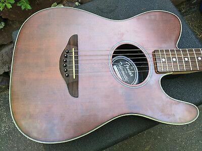 Squier Telecoustic Acoustic-Electric Guitar, Acoustasonic, Spruce Top, Thinline