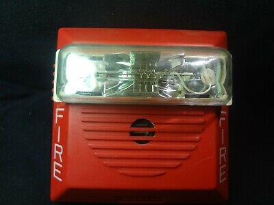 Wheelock Ns-24110w Red Hornstrobe Fire Alarm Free Shipping