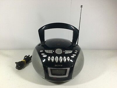 Sony CFD-E75 CD Cassette Player Recorder Boombox Stereo
