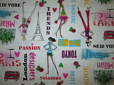 (NYC SHOPPING WEEK PARIS LONDON DESIGNERS TRENDS DIVA WHITE COTTON FABRIC BTHY )