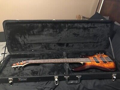 SDGR by Ibanez 5 String bass guitar-Comes with used hard case!