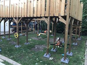 Module de jeu ( style parc ) pour enfants et adulte