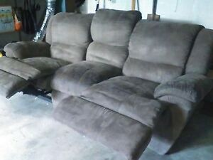 3 seater brown suede couch Perth Northern Midlands Preview