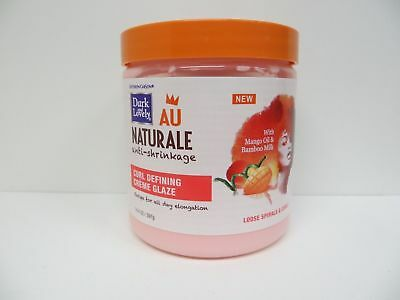 [DARK & LOVELY] AU NATURALE ANTI-SHRINKAGE CURL DEFINING CREME GLAZE