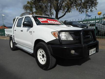 2010 TOYOTA HILUX SR, 4X4 ,TURBO-DIESEL... ( FINANCE AVAILABLE ) Melrose Park Mitcham Area Preview