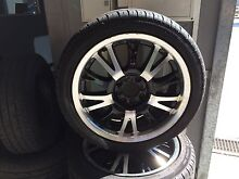 4 Mags multifit with near new 215/45/17 tyres Osborne Park Stirling Area Preview