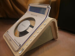 Sony Dream Machine Clock Radio Dual Alarm CD Player / WORKS GREAT! / ICF-CD855V