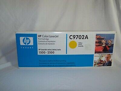 HP (C9702A) Yellow Toner Cartridge, Computer Supplies, Printer Ink