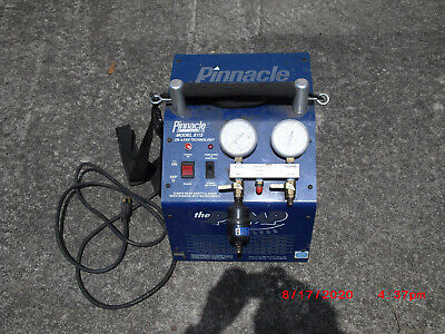Pinnacle 5115 The Pump Oil-less Refrigerant Liquid Vapor Recovery System Ac