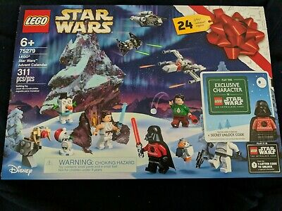 2020 Lego Star Wars Advent Calender #75279+Secret Code & Exclusive Character
