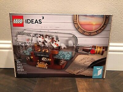 LEGO Ideas 21313  Ship in a Bottle -NEW Sealed
