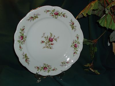 Moss Rose China Pattern Bavaria Germany Johann Haviland Johmor 7 3/4 Salad Plate