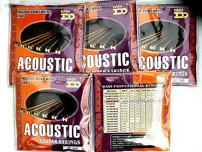 Cheap bulk acoustic guitar strings light 10-48 AG246 professional quality 5 - Cheap String Lights