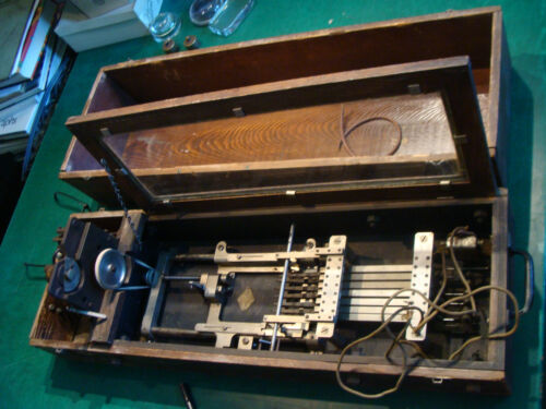 original 1887 Ferdinand Metzger of Phil Pa ELECTRIC INSTRUMENT big & heavy ODD