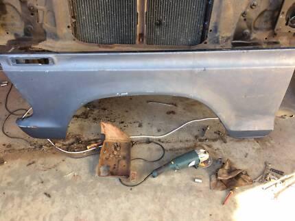 F100 parts, Bumper, Canopy, LPG gas system, guard, brake control