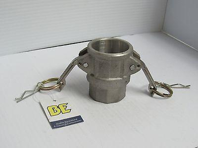 Braber Aluminum Female Camlock Cam Lock Connector 1-14npt Type D 90.393.114