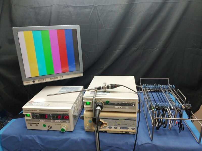 Olympus Laparoscopic Complete System OTVS6, CLV S40 & UHI2 NO INSTRUMENTS