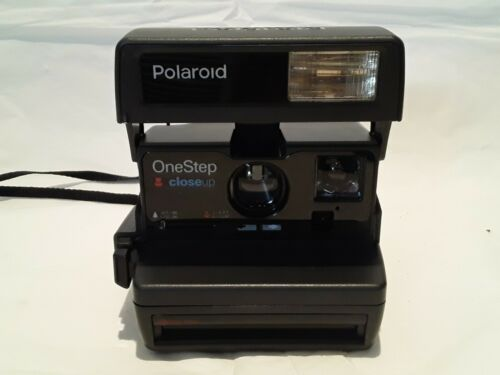 POLAROID ONE STEP CLOSE Up Macro Instant Film Camera Pop Flash Working GREAT  - $49.99