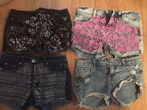 Girls size 12 shorts