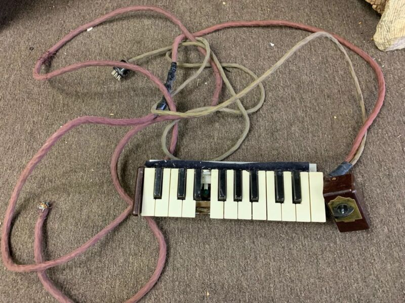 Vintage MAAS Organ Church Cathedral Chimes Keyboard Controller for parts
