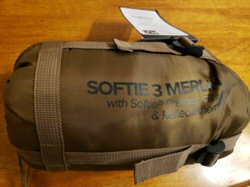NEW SnugPak Softie 3 Merlin Sleeping Bag Coyote Tan 91076