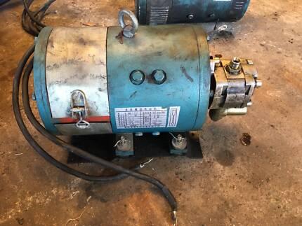FORKLIFT ELECTRIC DC MOTORS 10 HP 48V
