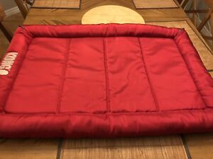NEW LARGE RED DOG BED