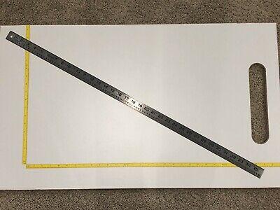 Vtg Lufkin No.95 Nos Circumference Steel Rule Ruler Machinist Farm Tool Rare 36