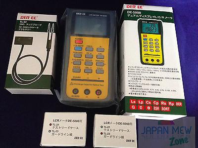 Der Ee De-5000 High Accuracy Handheld Lcr Meter W Tl-21 Tl-22 Tl-23 New