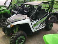 2017 Arctic Cat Wildcat Trail Limited EPS (DEMO) Guelph Ontario Preview