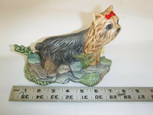 Yorkshire Terrier Yorkie Dog Hand Painted