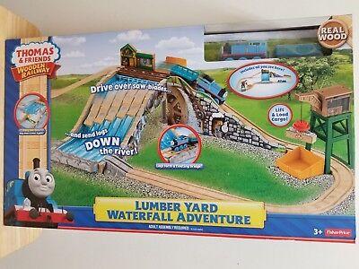 Thomas & Friends Lumber Yard Waterfall Adventure set