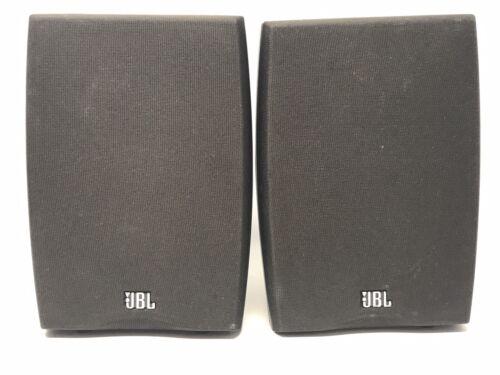 Pair Of JBL N24 Speakers Black - Tested Working - $49.95