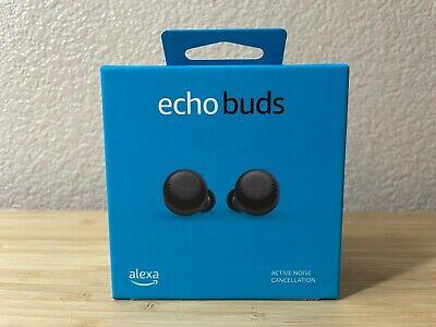 New & Sealed Amazon Echo Buds 2nd Gen True Wireless In-Ear Headphones - Black